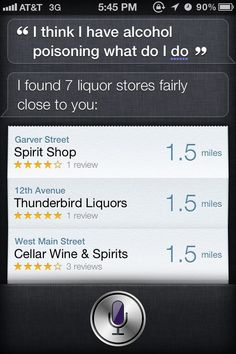 Thank you Siri...the hair of the dog that bit you?