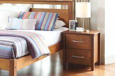 Tillsdale 2 Drawer Bedside by Coastwood Furniture