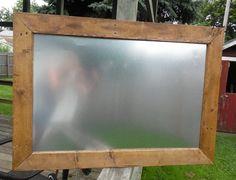 Magnetic Board, Rustic Wedding Decor, Rustic Magnetic Board, Framed Magnetic Board, Restaurant, Kitchen, Menu Board, Metal Board, Handmade by AdrianandLeo on Etsy