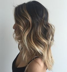 Blonde Balayage For Brown Hair I like this much