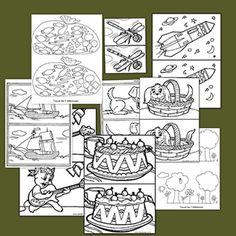 Recursos educativos: Fichas de diferencias. mejorar la atencion Kindergarten Art Activities, Hidden Pictures, Speech Therapy, Perception, Language Arts, Learning, Preschool, Reading, Pictures