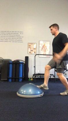 Home gym - SchaeFit Bosu Workout, Hiit Workout Videos, Pooch Workout, Park Workout, Gym Workout Tips, Daily Home Workout, At Home Workouts, Soccer Training Drills, Movement Fitness