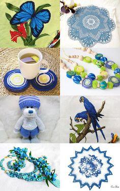 Noble blue by Irina Loktionova Nyrkunyak on Etsy--Pinned with TreasuryPin.com