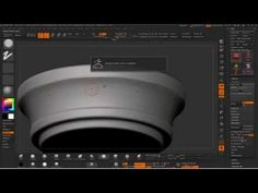 ZBrush Pylon Sculpting Stone Timelapse - YouTube