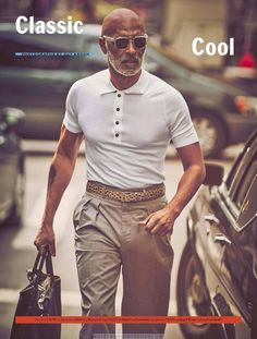 Male Fashion Trends: 'Classic cool at any age', una editorial por Guy Aroch para Esquire USA Fashion For Men Over 50, Older Mens Fashion, Stylish Mens Fashion, 50 Fashion, Male Fashion, Style For Men Over 50, Fashion Pants, Stylish Men Over 50, Fashion Trends