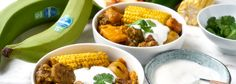Beef and Chiquita plantain stew perfect for this cold weather! Banana Colada, Healthy Banana Recipes, Plantain Recipes, Casserole Dishes, Food Hacks, Stew, Yummy Food, Stuffed Peppers, Meals