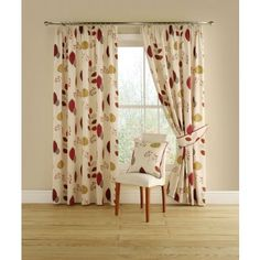 Cleo Ready Made Curtains Terracotta