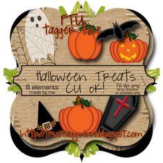 Super cute Halloweent element download--CU ok :)