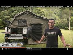 Patriot Campers X1 - 2016 WINNER Offroad Camper Trailer of the Year 2016 - with Judges Reviews - YouTube
