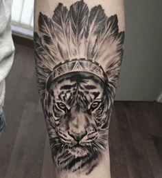 Tattoo Tiger head jewelry - http://tattootodesign.com/tattoo-tiger-head-jewelry/ | #Tattoo, #Tattooed, #Tattoos