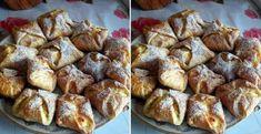 Tvarohové buchtičky plnené jablkami - Receptik.sk Pretzel Bites, French Toast, Bread, Breakfast, Food, Basket, Breakfast Cafe, Essen, Breads