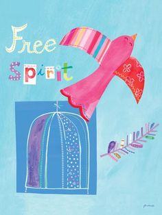 Free Spirit - Animals Posters That Stick | Oopsy daisy