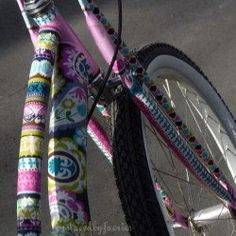 Show-off your sassy spirit by customizing your bicycle with fabric and Mod Podge! Choose fabric prints that suit your style for a totally unique,...