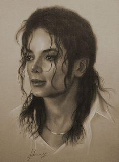 Michael Jackson,  Art, Pencil-Drawing by krzysztof20d