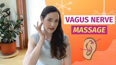 Vagus Nerve Massage For Stress And Anxiety Relief - YouTube Anxiety Relief, Stress And Anxiety, Vagus Nerve, Post Traumatic, Qigong, Acupressure, Natural Healing, Yoga Fitness, Health And Beauty