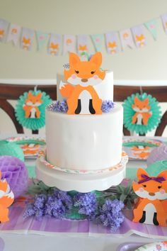 Lil Fox First Birthday Party