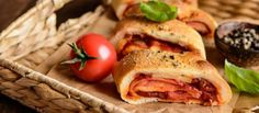 Venetian Rolled Pizza #recipe #food