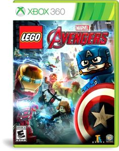 New-Sealed-In-Box-Video-Game-LEGO-Marvels-Avengers-Xbox-360-Free-Shipping