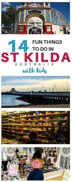 All the best things to do in St Kilda with kids, including the best St Kilda attractions, family friendly accommodation and restaurants. Australia Travel Guide, Visit Australia, Melbourne Australia, Australia 2018, Victoria Australia, Western Australia, Travel Destinations, Travel Tips, Travel Ideas