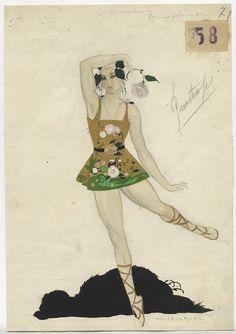 le chevalier printemps by umberto brunelleschi Cinema Theatre, Theatre Design, Art Deco Artists, Italian Artist, Vintage Costumes, Costume Design, Illustrators, Sketches, Drawings