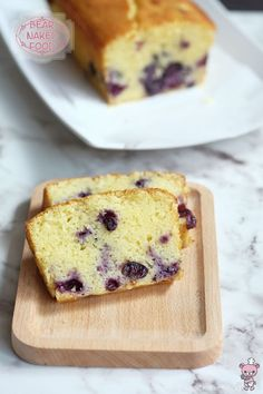 Bear Naked Food Blueberry Lemon Cake