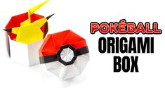 Learn how to fold an origami box that looks like a pokeball on top! This octagon… Learn how to fold an origami box that looks like a pokeball on top! This octagonal origami gift box and lid is perfect for Pokemon and Pokemon Go fans. Origami Gift Box, Cute Origami, Origami Star Box, Useful Origami, How To Make Origami, Paper Crafts Origami, Origami Stars, Origami Easy, Diy Paper