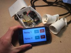 Wifi Relay With ESP8266 in Arduino IDE
