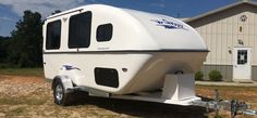 Small Camping trailer | ... White Small ESS Camper Travel ...