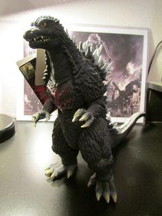 2004 Bandai 18 Inch Long Godzilla PVC Figure  Very by ViewObscura, $150.00