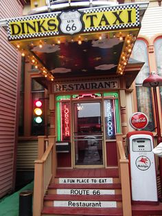 DINK'S Route 66 Restaurant ...Bar Harbor Maine