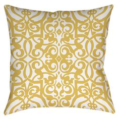 Found it at Wayfair.ca - Bold in Blue Scroll Printed Throw Pillow