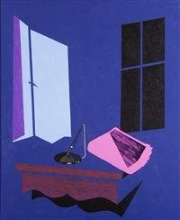 Evening Paper by Patrick Caulfield