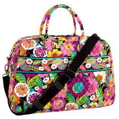 Weekender in Va Va Bloom. This bag is great for traveling for the weekend. It has great pocket space for storage and is very spacious.