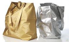 Metallic Tyvek Bags