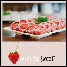 @tlifefeed | Γλυκά - Γλυκό σούσι με φράουλα