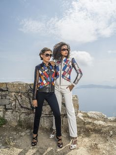 #summer #designer #leather #metis #sun #jacket #seaview #view #frenchriviera #fashion