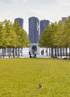 Franklin Delano Roosevelt Four Freedoms Park in New York City was conceived by architect Louis Kahn and his close collaborator, landscape architect Harriet Pattison, in the early 1970s, the park didn't actually open until October last year, some 40 years later.