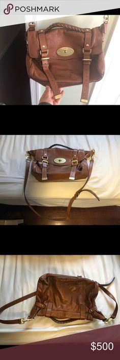 f1c86b6721b2 Mulberry Alexa Medium Size in Oak Classic Mulberry Alexa bag medium sized  (not oversized