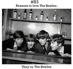 Oh good point, just being the Beatles makes them amazing. Submitted by teenageelixir