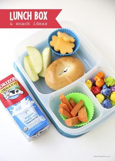 30 Back-to-School Lunch Box Ideas! Easy and healthy ideas to give a little variety for lunches and snacks! #HorizonB2S