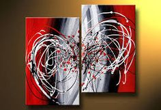 Resultado de imagen para pinturas abstractas modernas al oleo