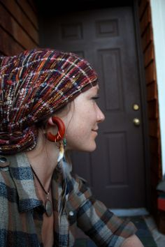 Assorted wood hoops gauges with accents by thegypsiescaravan, $115.00