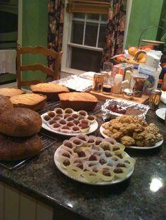 Crazy Christmas baking 2011