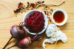 Beetroot relish recipe, NZ Herald – visit Eat Well for New Zealand recipes using local ingredients - Eat Well (formerly Bite) Relish Recipes, Jam Recipes, Salad Recipes, Vegan Gluten Free, Vegan Vegetarian, Beetroot Relish, Appetizer Salads, Appetizers, Edible Gifts
