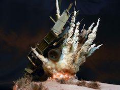 Modelo Diorama em escala1/350 do sub Yury Dolgorukiy no momento exato do lançamento de um míssil O nome meio cafonitcha não faz justiça ao que, de fato, um diorama é. Tem uma cidade em Goiás chamada Diorama, mas os dioramenses (?) vão ter que esperar outro post porque este não é sobre e…