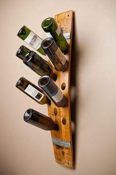 Wall Wine Rack, 16-Bottle