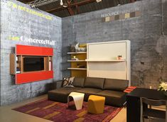 ConcreteWall from Resource Furniture at WestEdge Design Fair in Santa Monica, California, October 2014