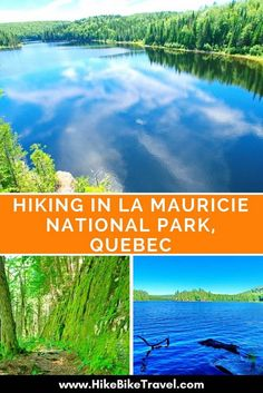 Hiking in La Mauricie National Park in Quebec is more difficult & more beautiful than I expected. The km Lac du Pimbina trail offers great vistas. Camping And Hiking, Hiking Trails, Backpacking, Camping Cabins, Camping Ideas, Quebec, Canada National Parks, Parks Canada, Discover Canada