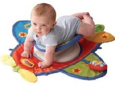 The First Years Happy Tummy Time Flyer is another stimulating and fun way to encourage tummy time and stimulate crawling