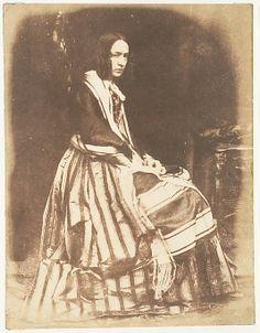 Mrs. Marian Murray, Lady Stair, 1843-7  David Octavius Hill  (Scottish, Perth 1802–1870 Edinburgh)  From the Met